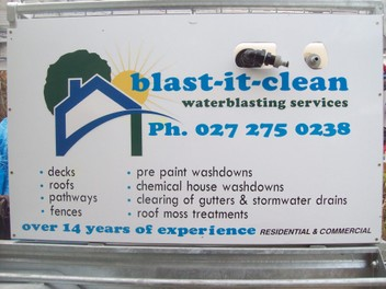 WATERBLASTING SERVICES & Gutter cleaning
