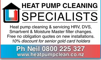 Heat Pump Service & Smartvent DVS HRV filters