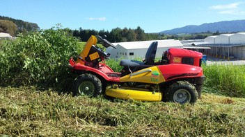 Ride on mowing & 4WD Brush cutting
