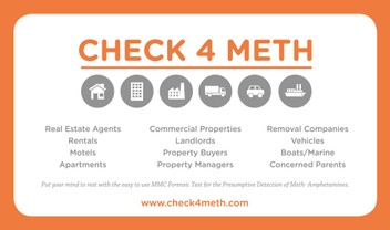 CHECK4METH - NZ's FIRST VALIDATED KIT