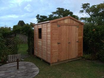 ECOSHEDS Wooden Garden Sheds 2.4m X 2.5m
