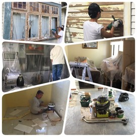 Chinese Painting, plastering and Builder Team