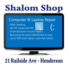 Computer & Charity Shop - SHALOM SHOP