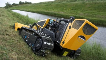 Gorse Gobbler - Slope Mowing