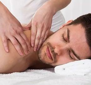 Relaxation massage for men