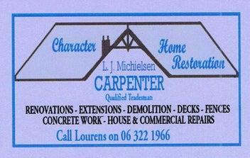 Carpenter/Builder LBP