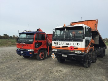 Transport - General with Hiab Crane & Tipper