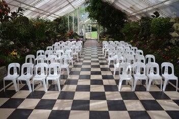 White Chair Hire @ $3.00 pc