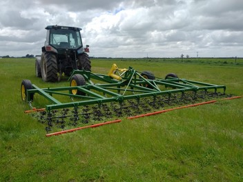 Hydraulic Folding Frame Harrows