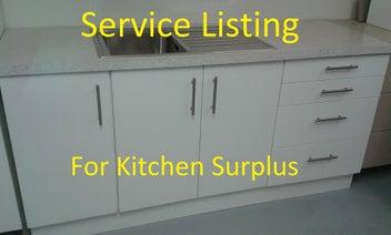 Service Listing for Kitchen Surplus