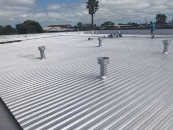 Roof Re Coating, Rust, Bitumen/Aluminium