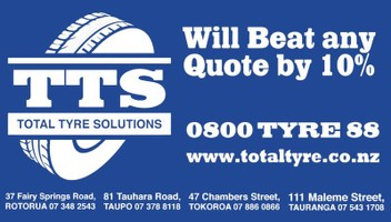 Total Tyre Solutions (Tokoroa) lowest price
