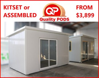 *~!QUALITY portable cabins, sleepouts, PODS ~!*