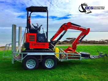 SMALL DIGGER HIRE $160.