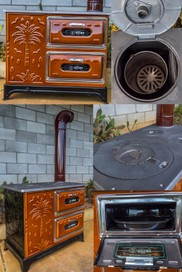 WOODBURNERS WITH COOKING OVEN