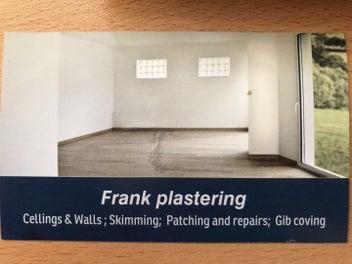 Frank Professional Plastering!!!!!