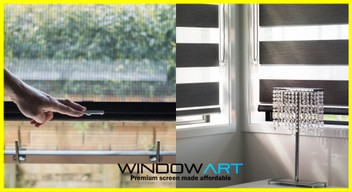 Feel Premium Blinds/Fly Screen at affordable price