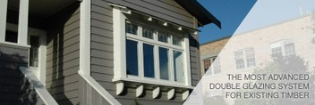 Double glaze your timber framed windows