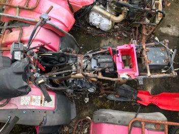 Suzuki LTF500 quadrunner parts bike | Trade Me