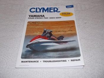 Yamaha Four Stroke PWC 2002-2009 Clymer Maintenance abd