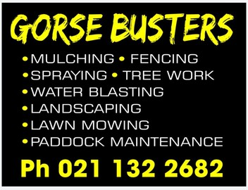 Gorse,fencing and much more