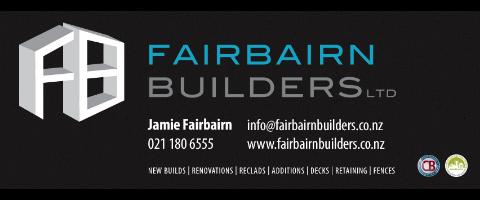 Fairbairn Builders Require Experienced Builders