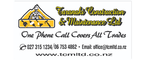 Light Construction & Maintenance Builder Required