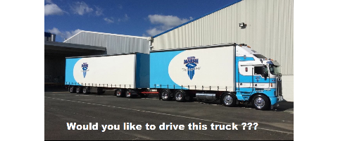 Curtainsider Driver Required