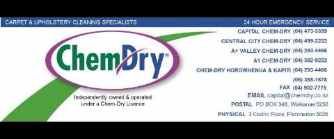 Chem-Dry Carpet & Upholstery Technician