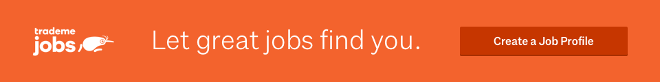 Let great jobs find you with Trade Me Jobs profiles