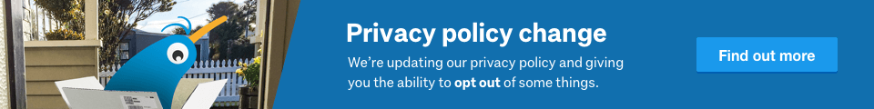 We're making changes to our privacy policies. Find out more here