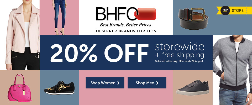 BHFO 20% off