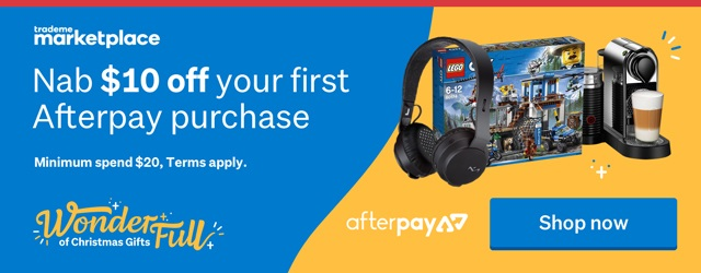 Save $10 with Afterpay