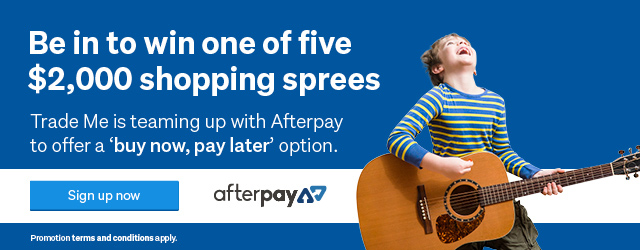 Sign up to Afterpay and win