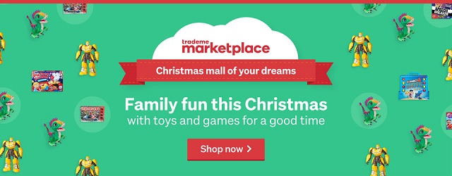 Shop the Christmas mall of your dreams