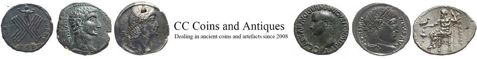 Individual Identified Roman Silver Denarius Coin from BC 100-250 AD