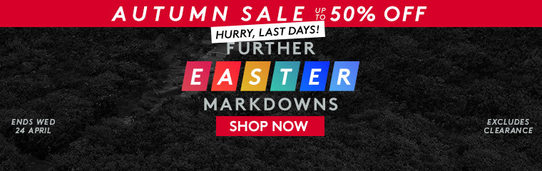 Easter markdowns - last days
