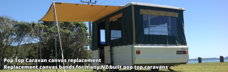 Pop Top Caravan Canvas replacement
