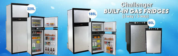 Built in 3 way fridge
