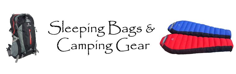 Sleeping or Camping