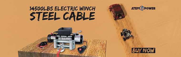 Electric Winch Steel Cable